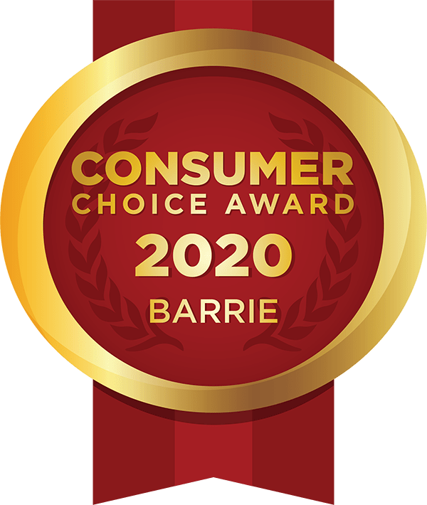 Consumers Choice Award Barrie 2020